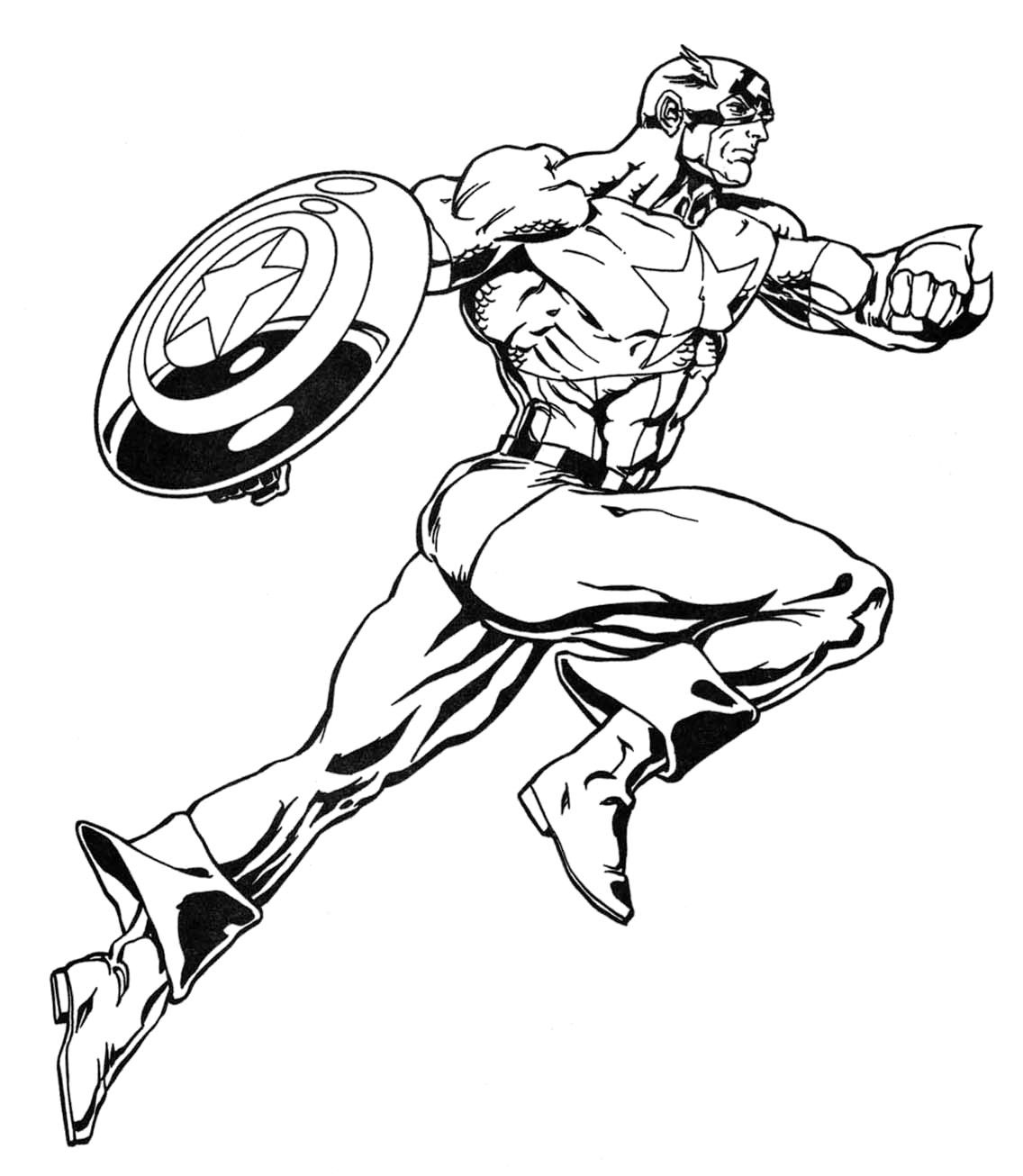 23 Superhero Coloring Pages Thevillageanthology Com In 2021 Superhero Coloring Superhero Coloring Pages Captain America Coloring Pages