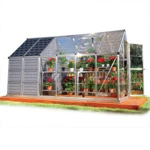 6 Ft X 12 Ft Grow Store Greenhouse Shed 701950 At The Home