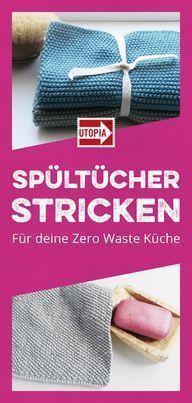 Photo of Gestrickte Geschirrtücher: Eine Anleitung für Dänisch S – Kleiner Balkon Idee …