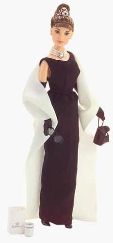 """Audrey Hepburn """"Breakfast at Tiffanys"""" (1998) Barbie Doll"""
