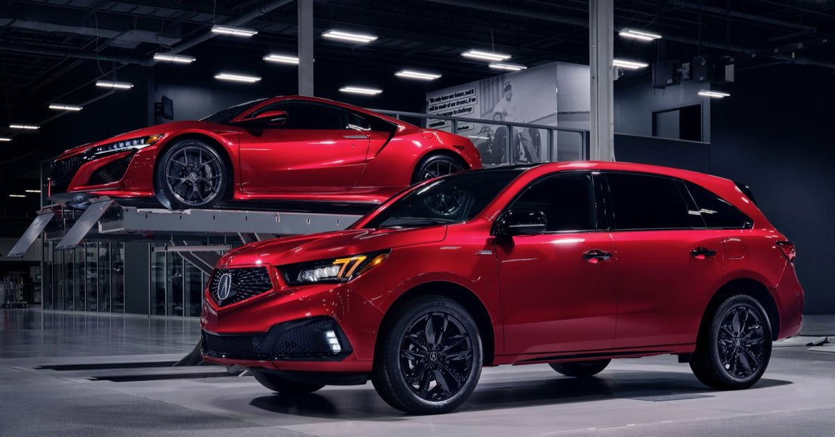 2020 Acura Mdx Pmc Edition Is Built In A Supercar Factory Digital Trends Acura Mdx Hybrid Acura Mdx Acura Suv