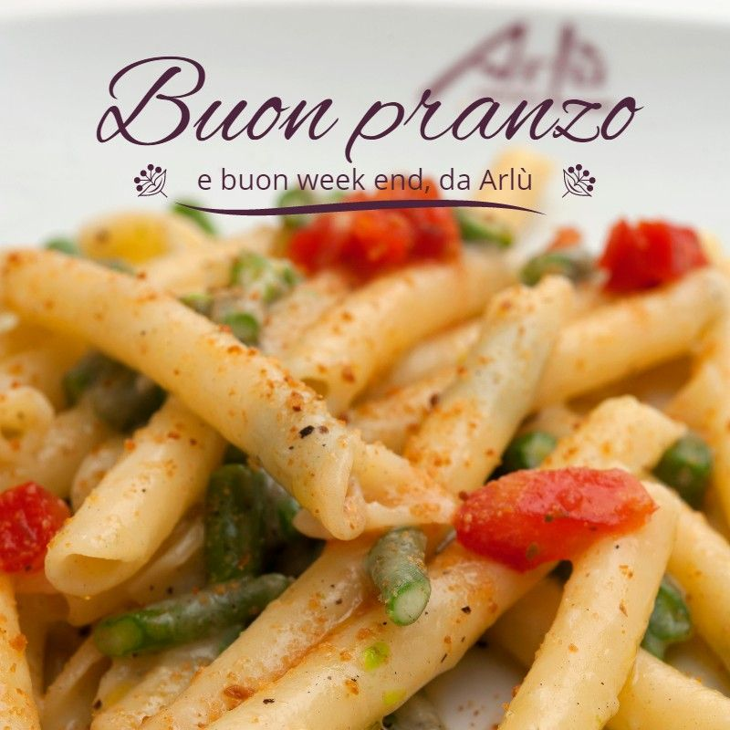 Buon pranzo! - Happy lunch! #arlu #ristorantearlu