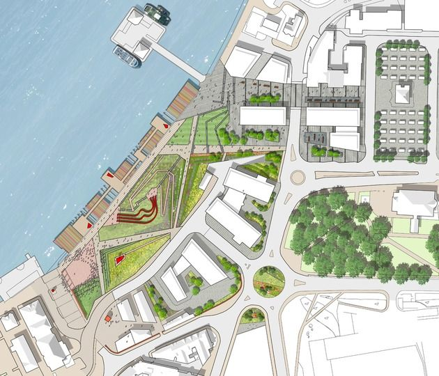 New Shore Park Design Competition   Landscape Architecture   Optimised  Environments