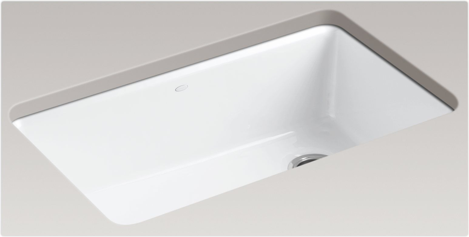 Kohler White Undermount Kitchen Sinks - Kitchen Design Ideas