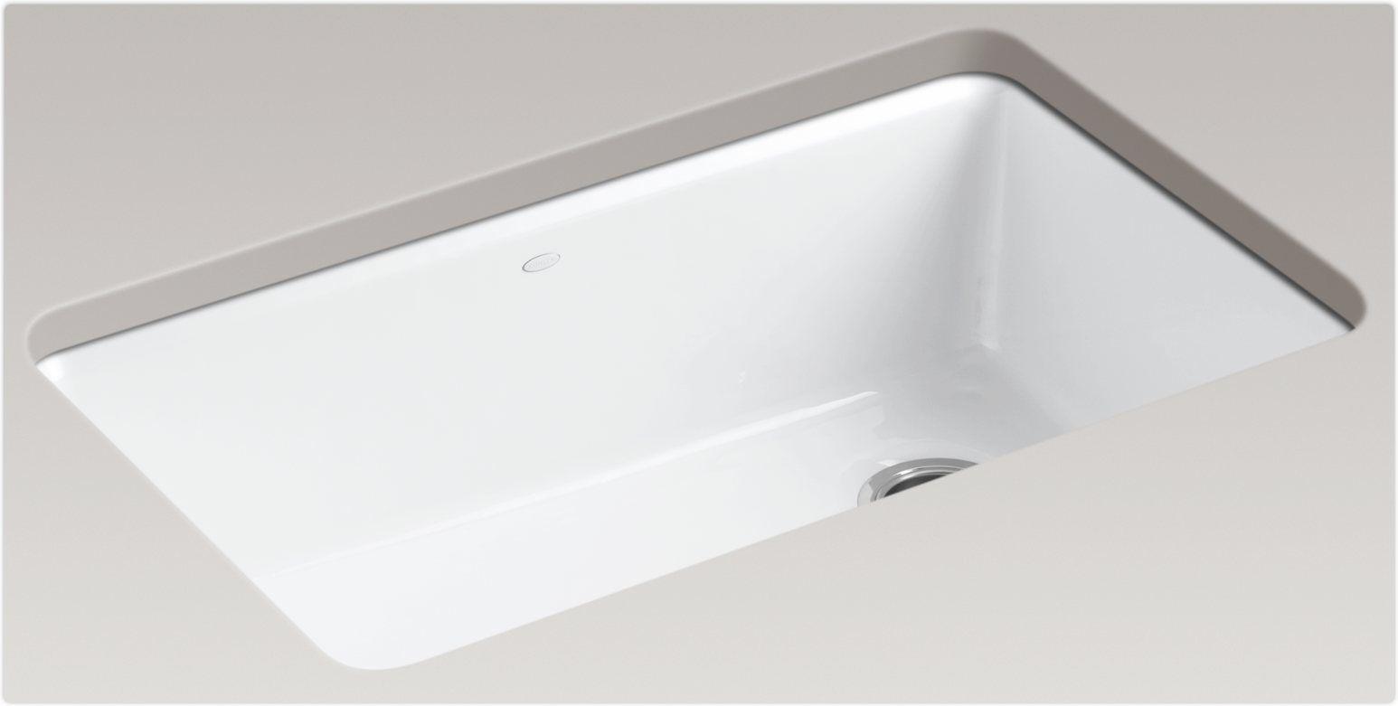 Kohler Kitchen Sinks Undermount Kohler riverby single bowl pendelton house pinterest sinks kohler riverby single bowl white kitchen sinkundermount workwithnaturefo