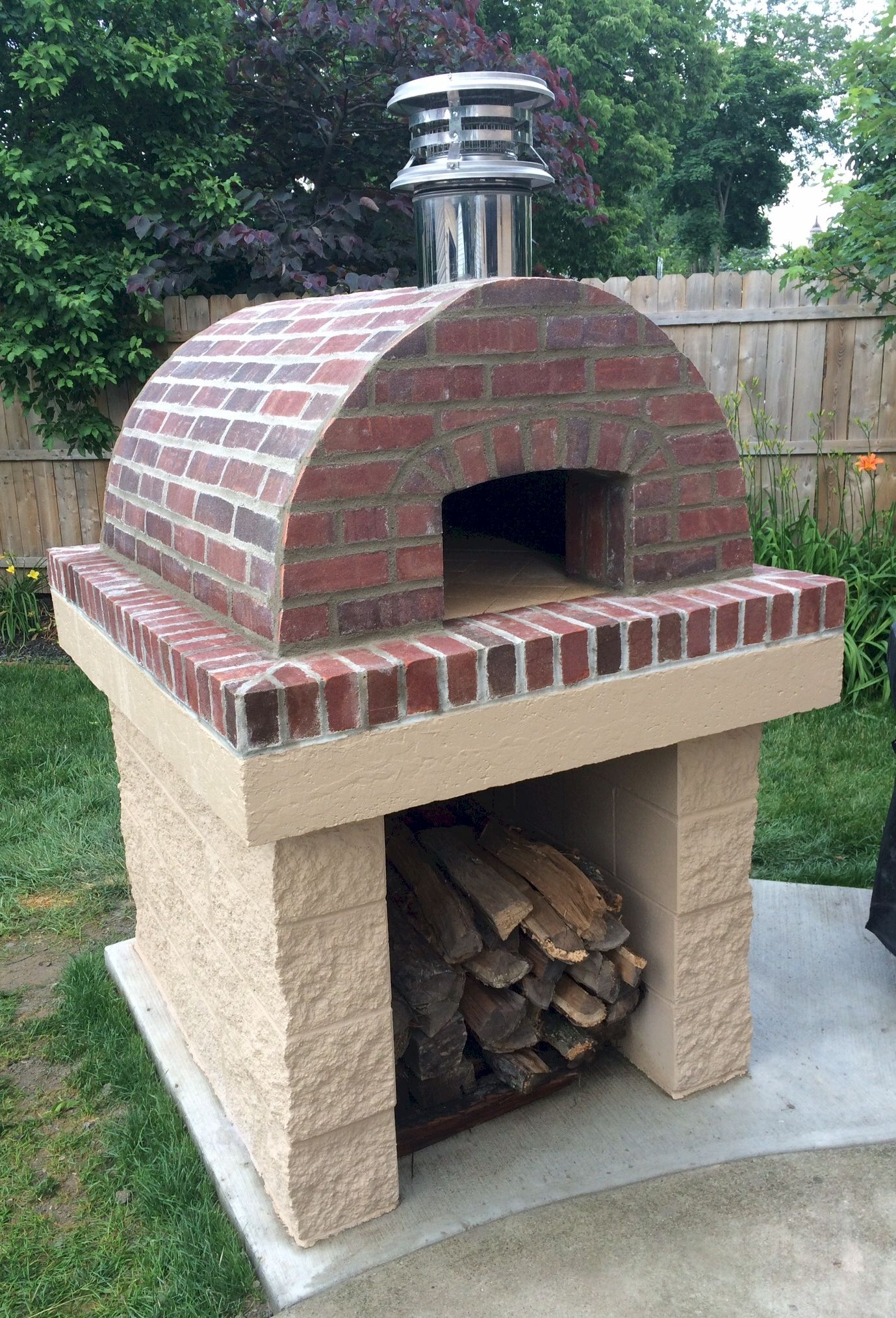 One of the most beautiful cortile barile ovens weve seen