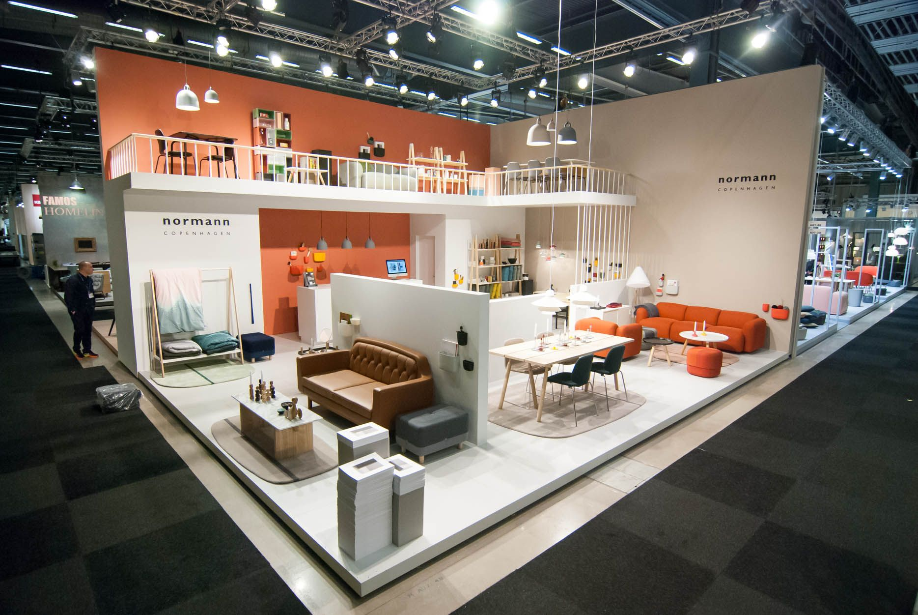 Exhibition Stand Design Furniture : Stockholm furniture fair normann copenhagen