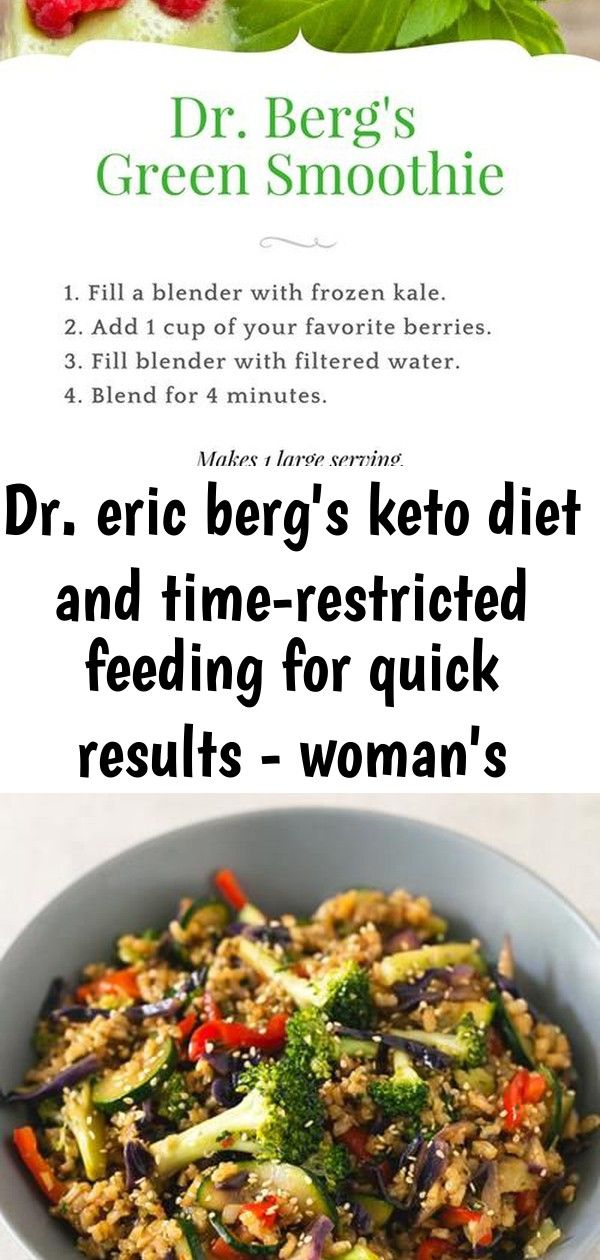 womans world dr eric bergs keto diet