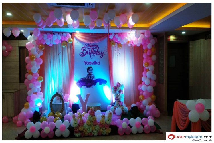 137 Best Ideas 1st Birthday Party Hall Decorations Birthday Party Halls Birthday Decorations Kids Princess Theme Birthday Party