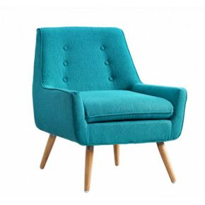 Best Dorothy Bright Blue Chair Upholstered Chairs 400 x 300