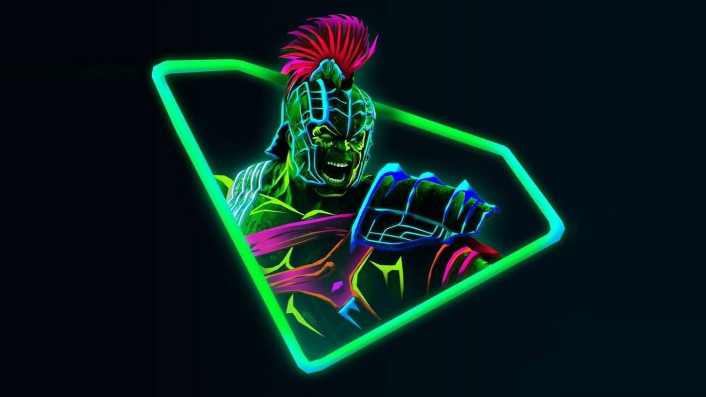 Neon Avengers 1920x1080 Desktop Wallpapers (based on