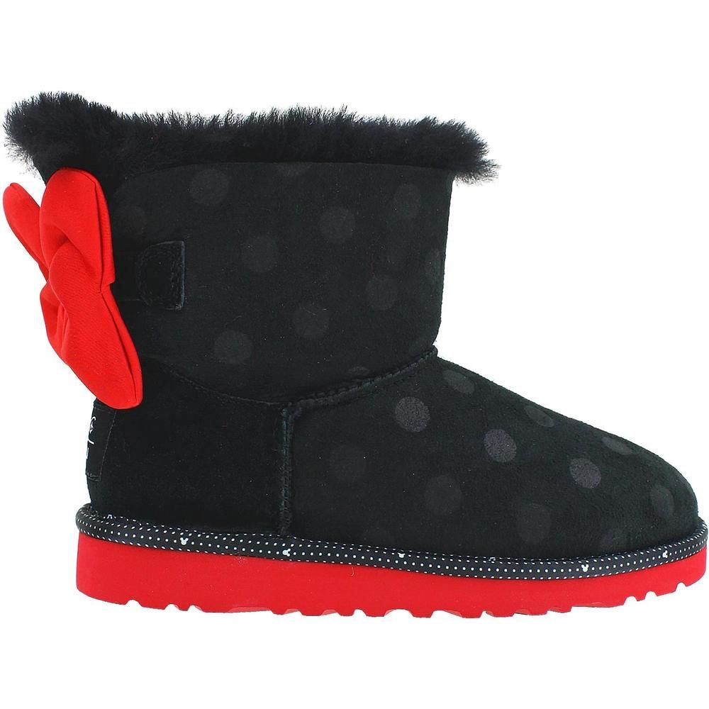 0932cfc91da Details about UGG DISNEY Park MINNIE MOUSE RED SWEETIE BOW CLASSIC ...