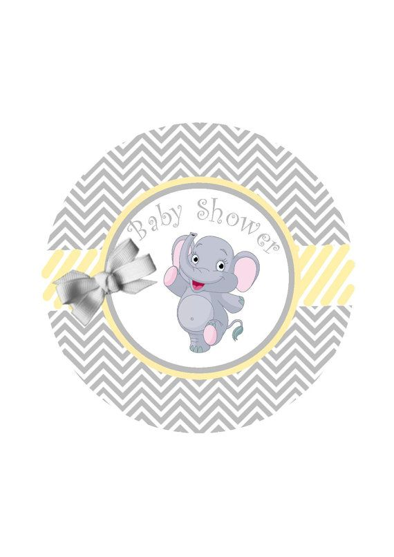 Baby Shower Favors Labels Ready To Pop Sticker By Happypartydecor