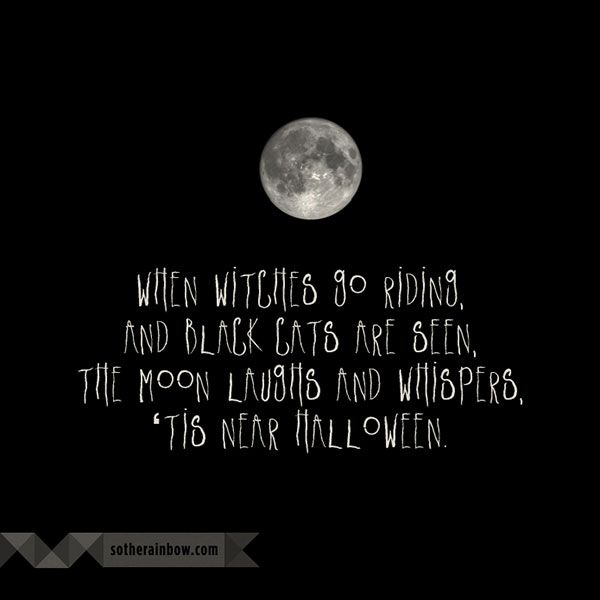 Superior When Witches Go Riding Poem | Happy Halloween