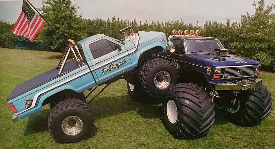 Ms Bigfoot And Bigfoot 4 With Images Monster Trucks