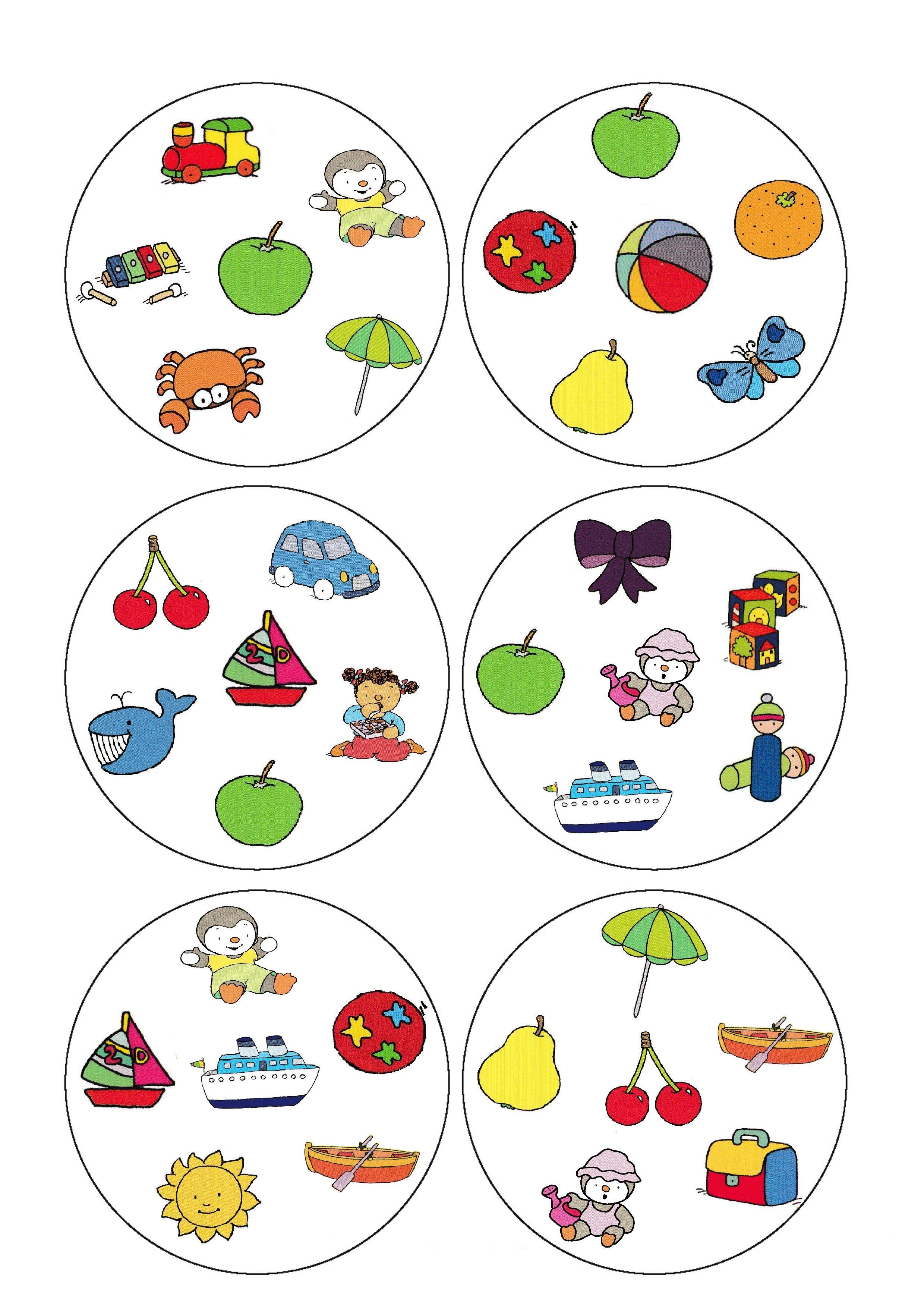 dobble jeu de carte a imprimer Jeu des doubles de T'choupi (avec images) | Jeux de dobble, Jeux a