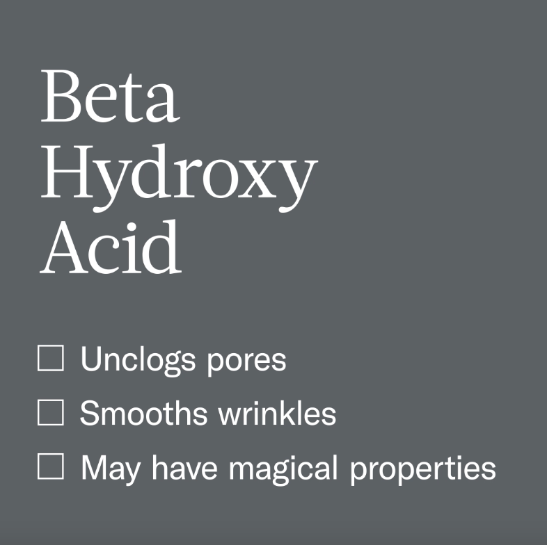 BHA might be our favorite ingredient.