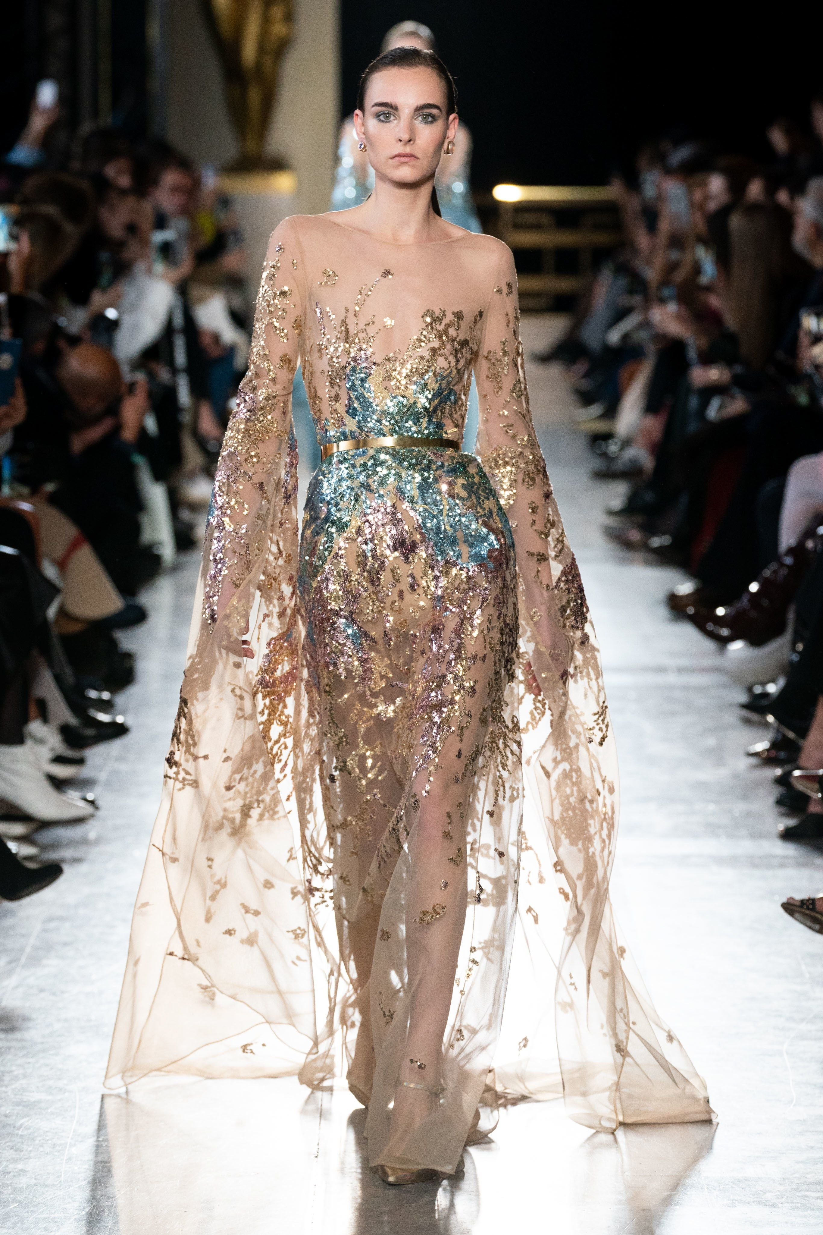 cb2963b989add Elie Saab Spring 2019 Couture Fashion Show in 2019 | Miscellaneous ...