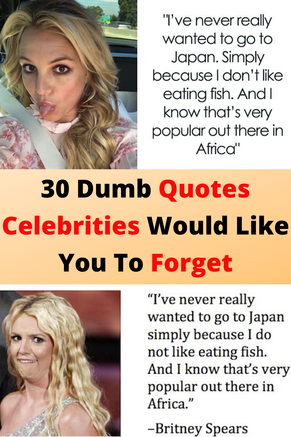 30 Dumb Quotes Celebrities Would Like You To Forget Dumb Quotes Epic Fails Funny Dumb And Dumber