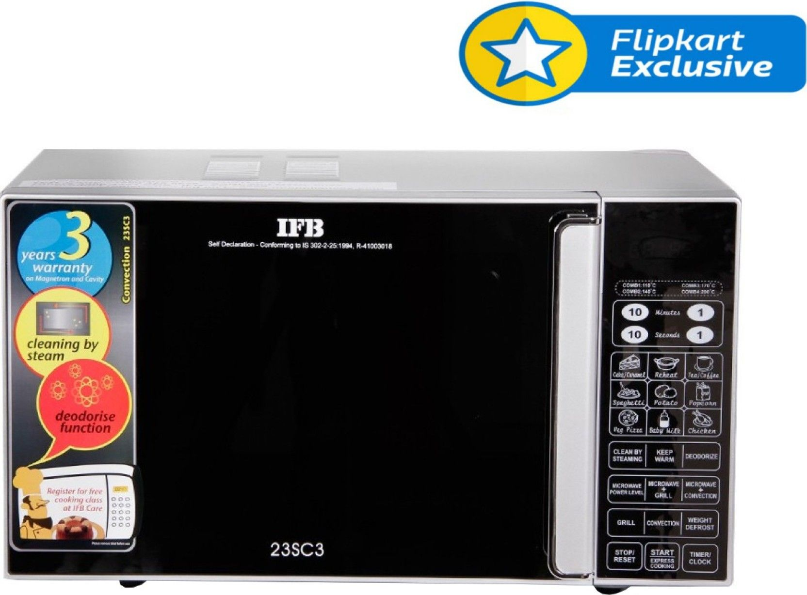 Flipkart Ifb 23 L Convection Microwave Oven