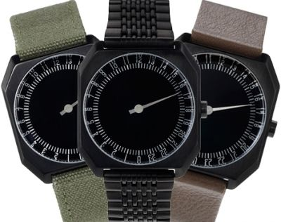 slow watches were created to shift the way people read time. It has only one hand that rotates once every 24 hours.