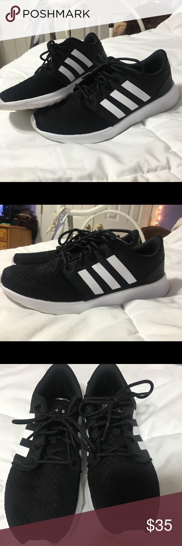 Adidas neo cloudfoam corredores corredores corredores tamaño 8 ligeramente desgastado adidas corriendo zapatos b22ec7