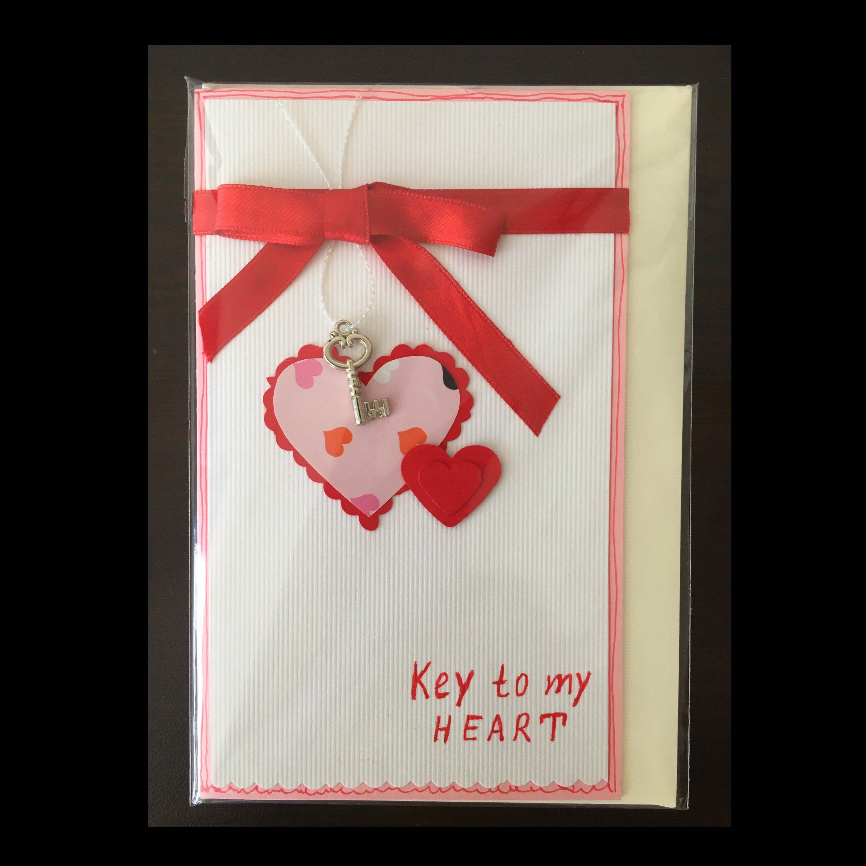 Key To My Heart Card Heart Cards Valentines Cards Key To My Heart
