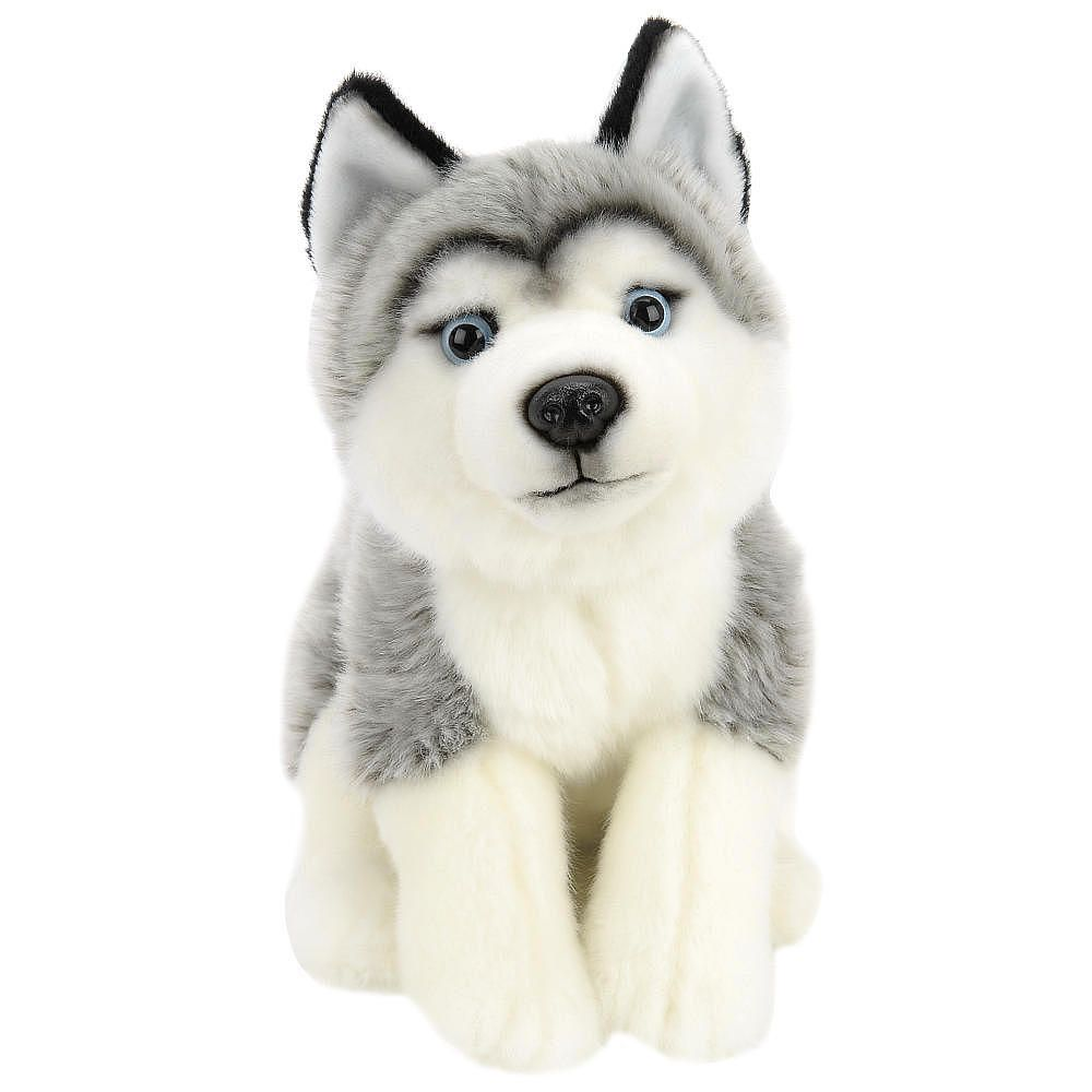 Toys R Us Plush 10 Inch Husky Gray And White Toys R Us Toys