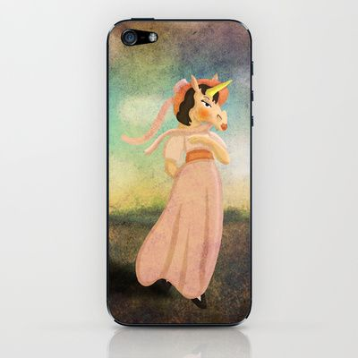 Pinkie Unicorn iPhone & iPod Skin