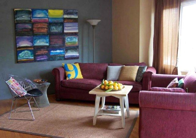 Guides You Need To Pick The Perfect Design Rugs For Living Room The Expert Beautiful Ideas Colorful Living Room Design Burgundy Living Room Home Goods Decor