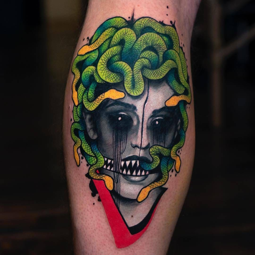 Illustrative tattoos by Hans Deslauriers Tattoos for