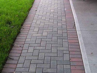 Dfw Landscape Design News Bonick Landscaping Brick Pathway Brick Sidewalk Brick Path