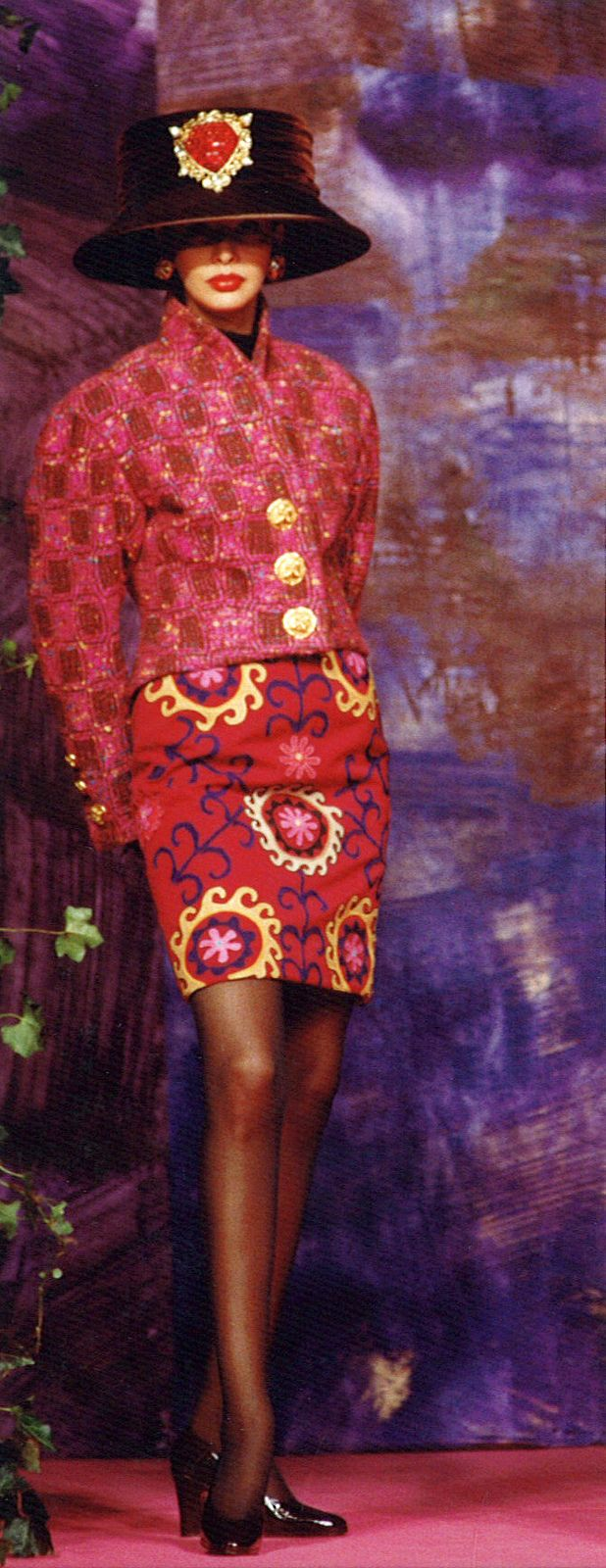 Christian Lacroix Haute Couture Fall-Winter 1990 | von Christian_Lacroix