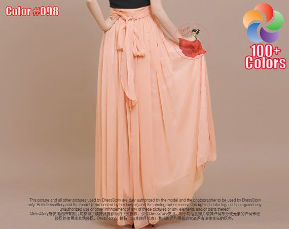 f0a8c798cb3 Fabricated from sheer chiffon fabric, featuring fitted waist vs. flowy skirt  with wide hem. You may tie the sash either in front or at back (sash is  sewn ...