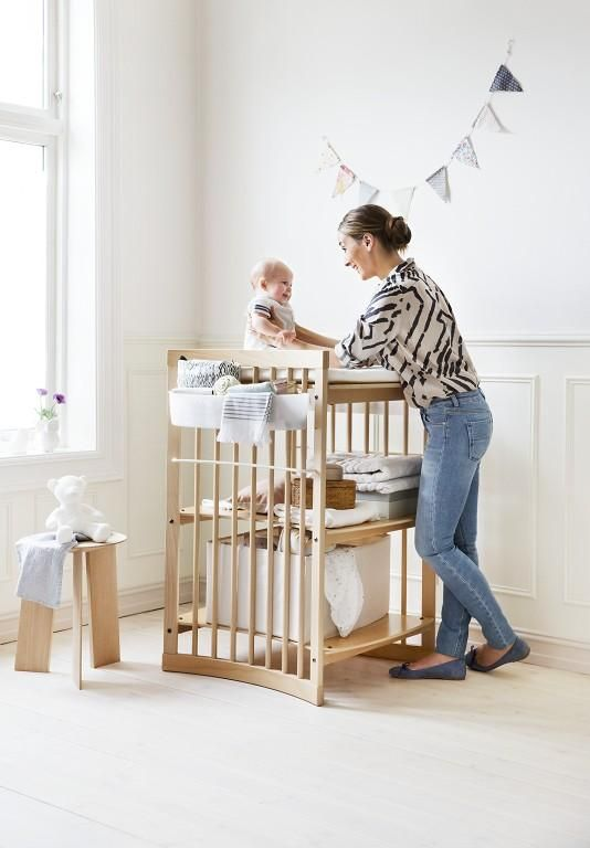 Superior Stokke Care Changing Table Promotes Connection With Baby And Has A Height  Adjustable Top Level,