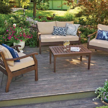 Better Homes And Gardens Cawood Place 4 Piece Conversation