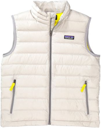 Patagonia Boys Down Sweater Vest Drifter Grey L Patagonia And