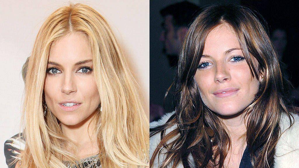 Celeb Hair Poll Blonde Or Brunette Blonde Vs Brunette Brunette To Blonde Sienna Miller Hair