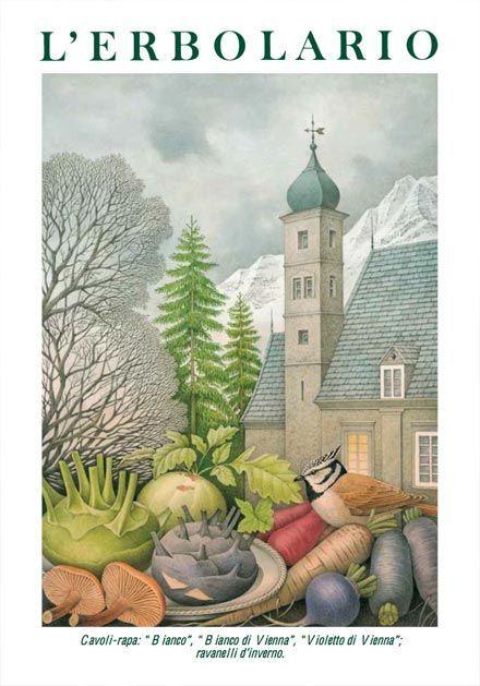 Calendario 2001.Calendario 2001 Natyurmort Illustration Art I Watercolor