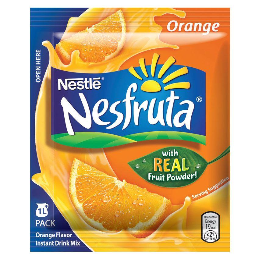 Nestle Nesfruta Orange Water Enhancer Dengan Gambar