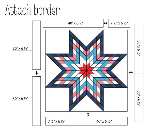 Jellied Lone Star Quilt Â« Moda Bake Shop | Quilt Designs ... : diamond star quilt block pattern - Adamdwight.com