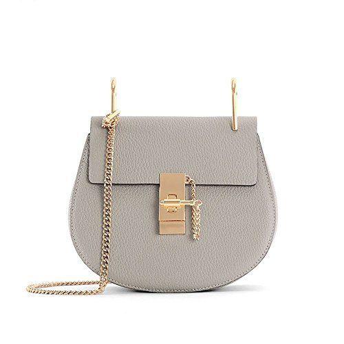 Chain Drew Bag Genuine Leather Handbag Women Shoulder Bag, http://www.amazon.com/dp/B01GJ8LHJY/ref=cm_sw_r_pi_s_awdm_8YVFxbXDAWCG1