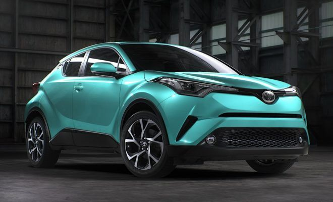 2017 Toyota C Hr Looks Better In Turquoise Toyota C Hr Toyota Suv Toyota Cars