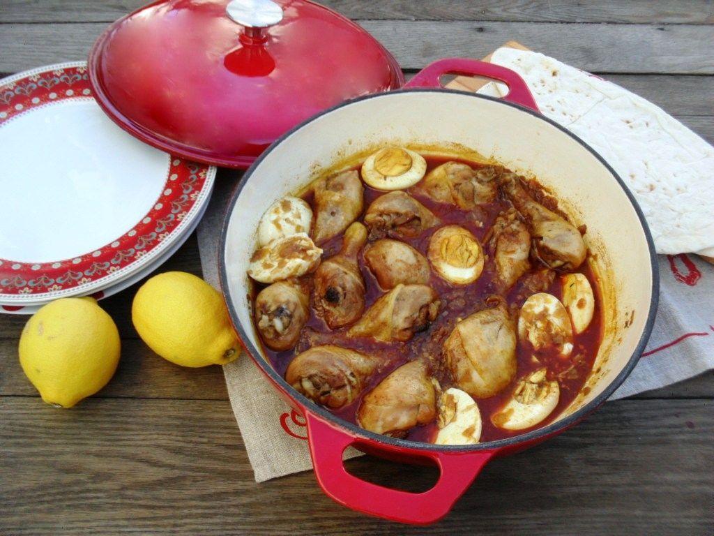 PinkPolkaDot's Spicy Ethiopian Chicken stew