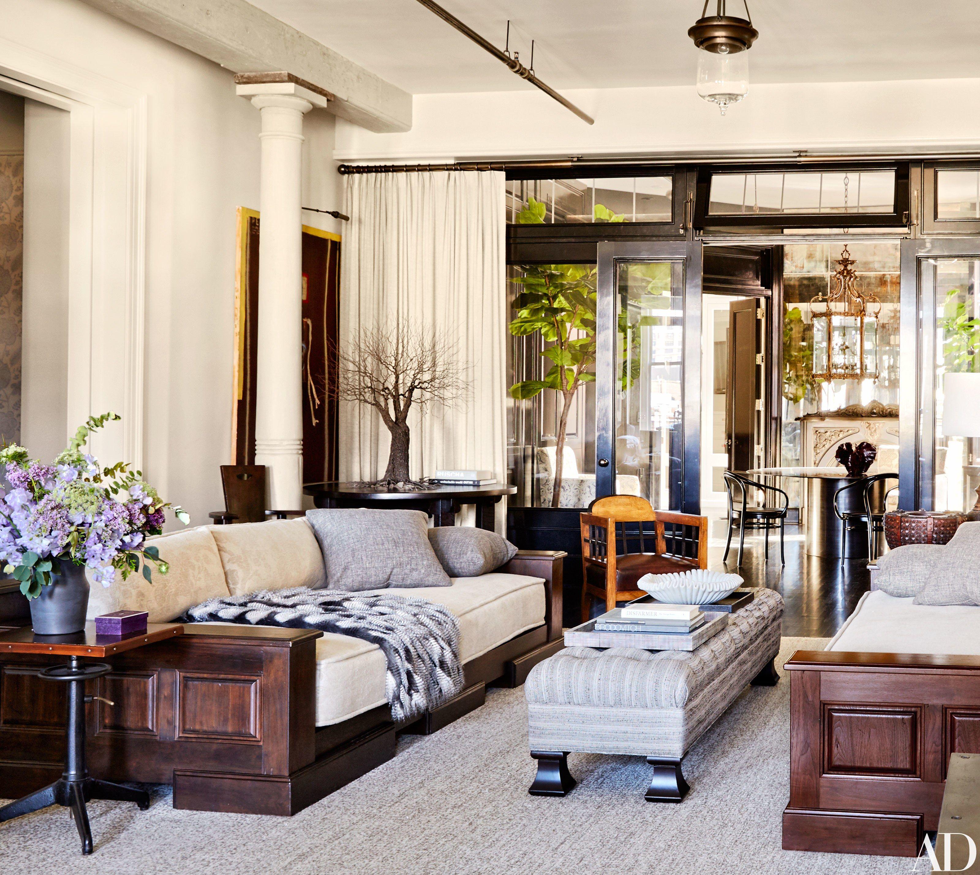 New York Living Room Meg Ryans Best Decorating Advice In The Corner Living Room