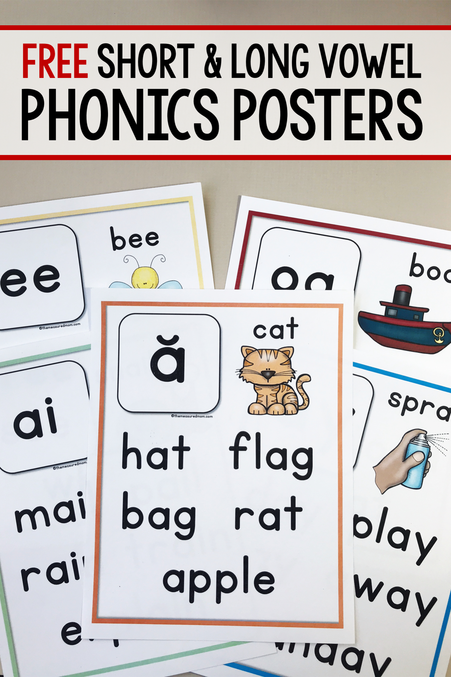 Print These Free Phonics Posters To Use As Mini Anchor