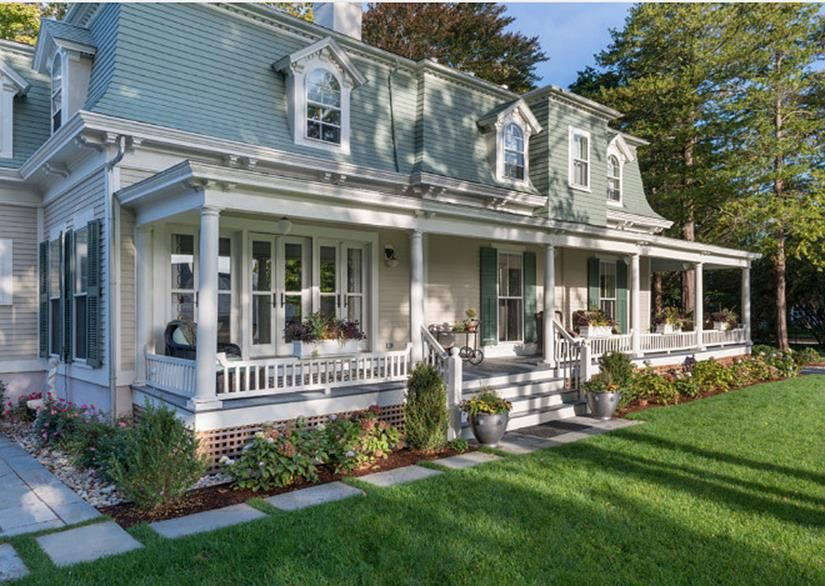 Charmant 38 Perfect Farmhouse Front Porch Landscape Design Ideas