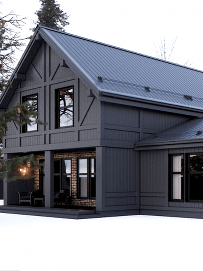 45 Perfect Metal Buildings Design Ideas For Stylish And Modern Design Grey Exterior House Colors House Exterior Metal Building Designs