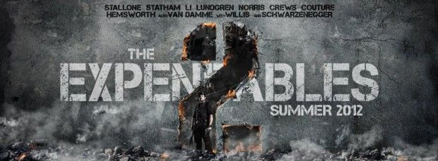 THE EXPENDABLES 2 Facebok Cover