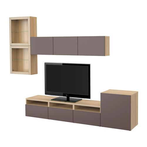 Bestå Tv storage, Glass doors and Storage - Wohnzimmer Ikea Besta
